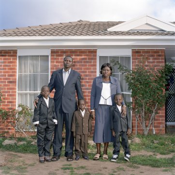 The Duots: a family portrait, 2009 by Lee Grant