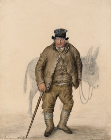 Sand-man, Whitby, c. 1825 by John Dempsey