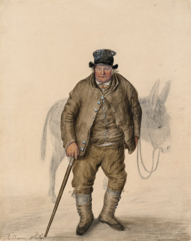 Sand-man, Whitby, c. 1825