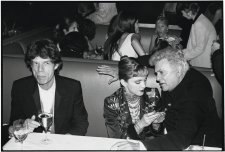 Mick Jagger, Madonna and Tony Curtis, 1997