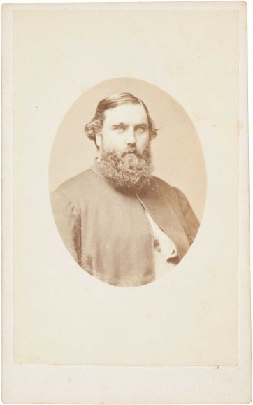 William Saurin Lyster, (mid to late 1860s) by Davies & Co