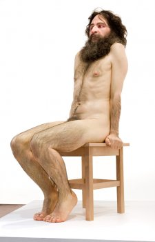 Wild Man, 2005 by Ron Mueck