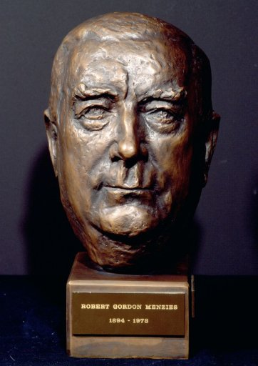 Rt Hon. Sir Robert Menzies, c. 1962 by Victor Greenhalgh