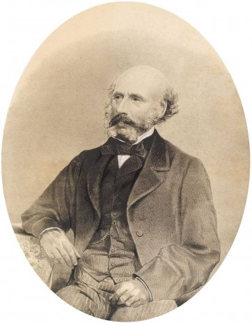Sir Thomas Gore-Browne, 1864 J. Walch & Sons