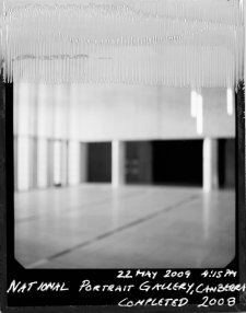 National Portrait Gallery, Canberra, 25 Hours 31 minutes, 22-23rd of May 2009, 23 May 2009 (printed 2010) by Ingvar Kenne