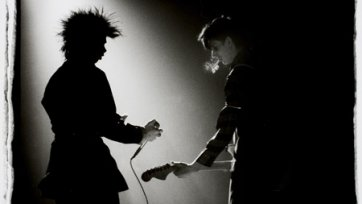 Nick Cave and Rowland S. Howard (of The Birthday Party), 1983 Bleddyn Butcher