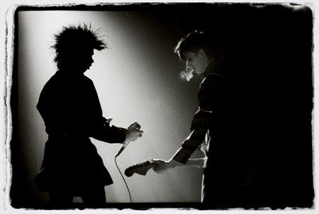 Nick Cave and Rowland S. Howard (of The Birthday Party)