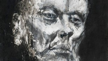 Study for John Bell as King Lear, 1998-2001 Nicholas Harding