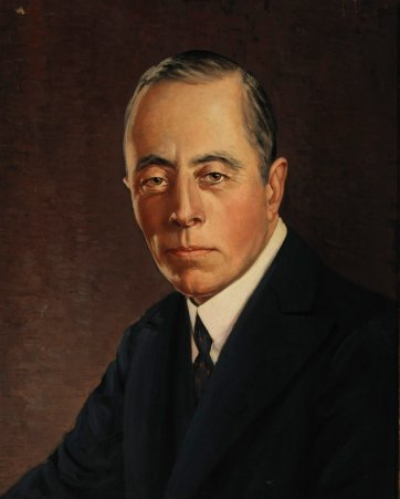 Sir Ernest Fisk, n.d. (after 1937) by an unknown artist