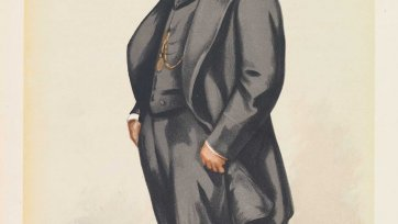 """Sydney"" Sir Daniel Cooper (Image plate from Vanity Fair), 1882 Sir Leslie Ward"