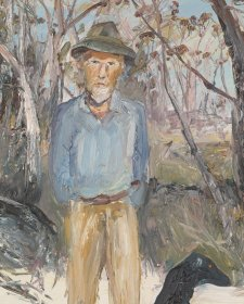 Portrait of Manning Clark at Wapengo NSW, 1972 Arthur Boyd