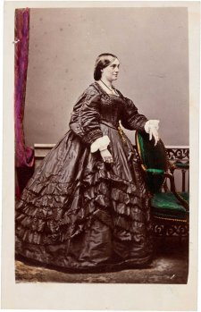 Lucy Escott, early 1860s Dalton's Royal Photographic Gallery