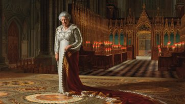 The Coronation Theatre, Westminster Abbey: A Portrait of Her Majesty Queen Elizabeth II, 2012