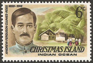 Christmas Island stamp, issued 1977