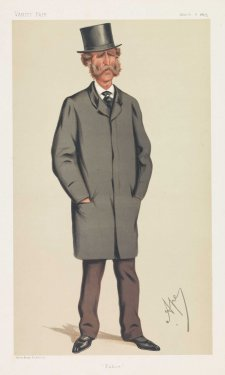 """Police"" Lieut. Colonel Edmund Yeamans Walcott Henderson (Image plate from Vanity Fair), 1875 by Carlo Pellegrini"