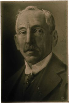 Portrait of Mr W.M. Hughes, Prime Minister of Australia, 1916 J.H. Barratt & Co. Ltd, Stoke-on-Trent