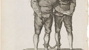 David Brown Dignam [and] George Barrington drawn from the life, 1777 an unknown artist, The London Magazine