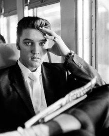 On train from New York to Memphis, July 4, 1956 by Alfred Wertheimer