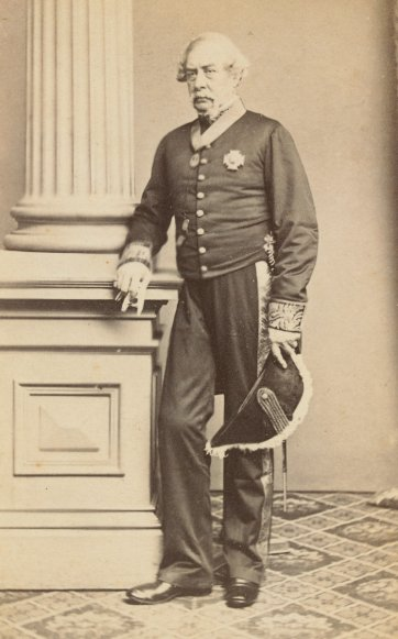 Sir Charles Darling, c. 1863 by Batchelder and O'Neill