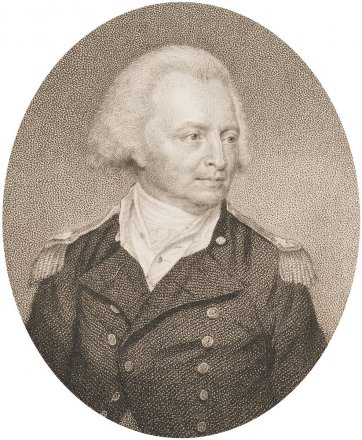 Sir George Young Kt, Admiral of the White Squadron, 1814 by John Smart, Blood, Joyce Gold Naval Chronicle Office