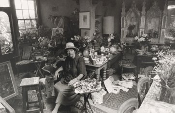 Margaret Olley, 1998 by Lewis Morley