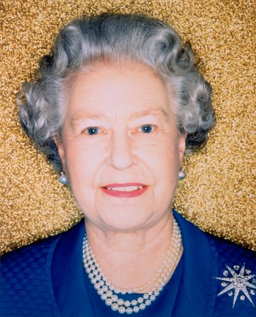 HM Queen Elizabeth II, 2002 by Polly Borland
