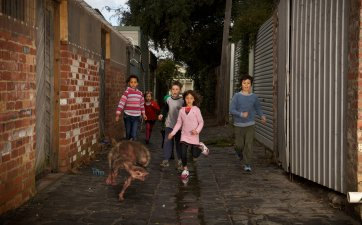 Alley, 11.15 am (from 'The Fitzroy Series'), 2011 by Patricia Piccinini