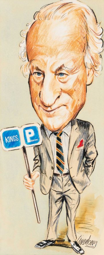 Jim King, Kings Parking, n.d. by Joe Greenberg