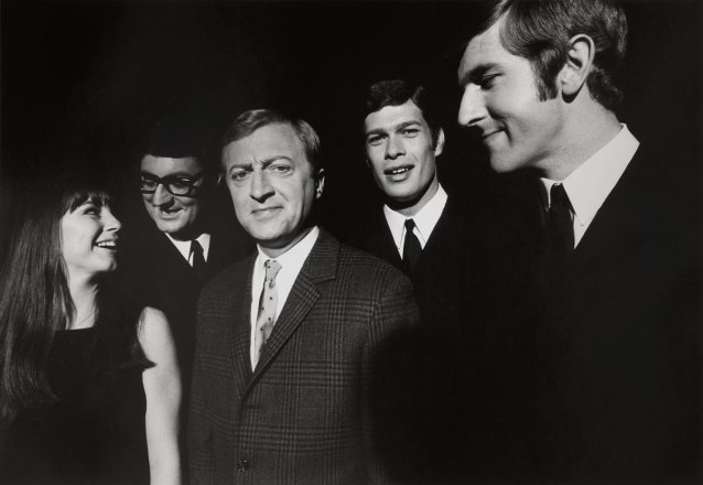 Graham Kennedy and the Seekers in Melbourne