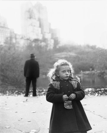 New York Life #11, Central Park, New York City, November 17, 1949 by Richard Avedon