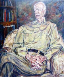 Sir Walter Crocker, 1995 by Meredith Russell