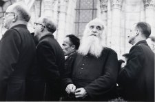 Priest at Lourdes Centenary, France, 1958 (printed 2000) David Moore