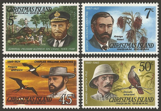 Christmas Island stamps issued in 1978