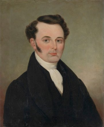 Francis Tuckfield, c. 1854 by an unknown artist