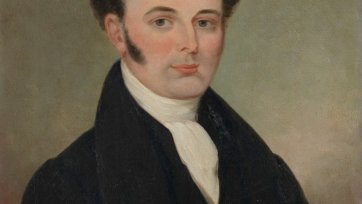 Francis Tuckfield, c. 1854 an unknown artist