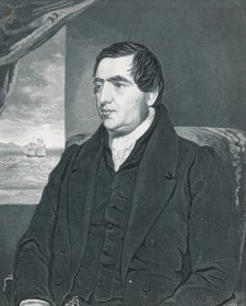 Reverend John Williams, c.1837 by George Baxter
