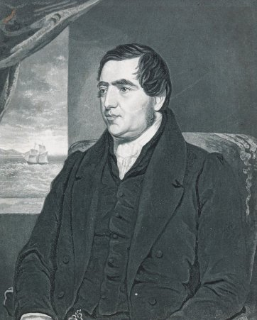 Reverend John Williams, c.1837 George Baxter
