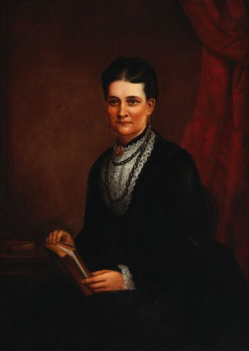 Emily Fairfax, 1870 by William Macleod