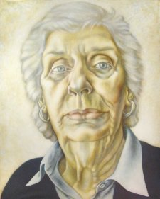 (Margaret Whitlam) by the strength of her skin, 1998 by Kim Spooner