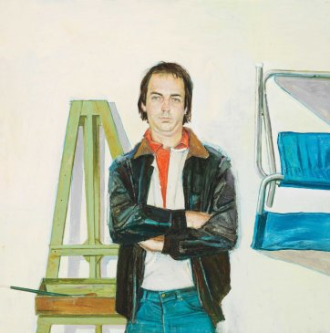 Another painter in the studio: Tim Storrier, 1982 Bryan Westwood