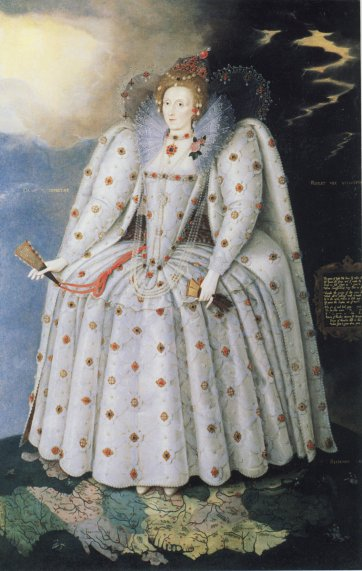 Queen Elizabeth I (The Ditchley portrait), c. 1592