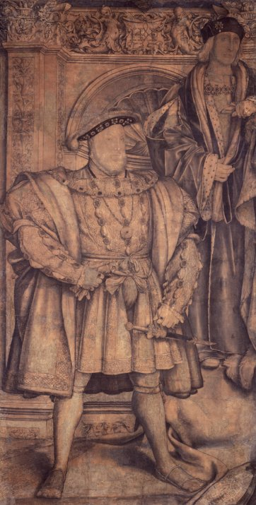 Henry VIII and Henry VII Hans Holbein the Younger, c.1536-37