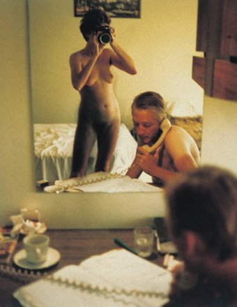 Mirror with a memory: Motel room, c. 1976 by Carol Jerrems