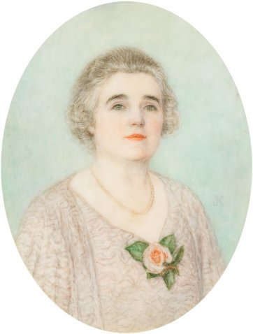 Dame Enid Lyons, c.1943 by an unknown artist