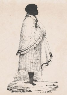 Punch, wife of Cullabaa, Broken Bay tribe, 1836 William Fernyhough