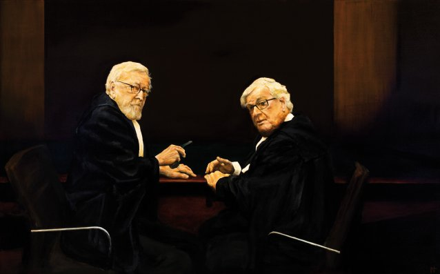 Robert Richter QC and Philip A Dunn QC 2011 by Martin Tighe