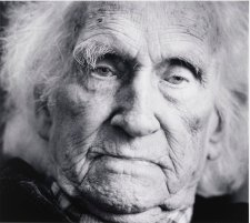Lloyd Rees at 90, Northwood, Sydney, 1985 (printed 2000) by David Moore