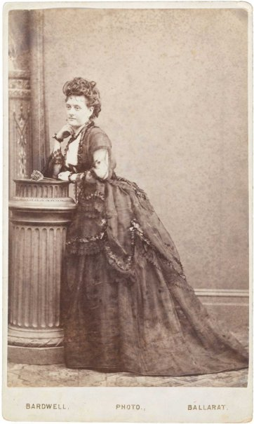 Hattie Shepparde, 1872 by Bardwell's Royal Studio