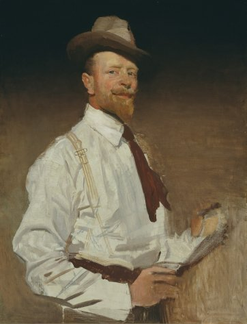 Self portrait (unfinished 1921)