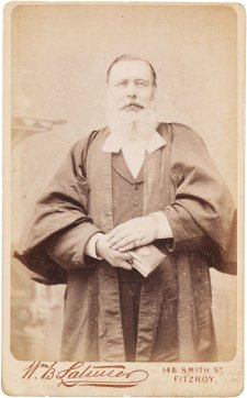 Reverend Nathaniel Kinsman, c. 1880 William B. Latimer